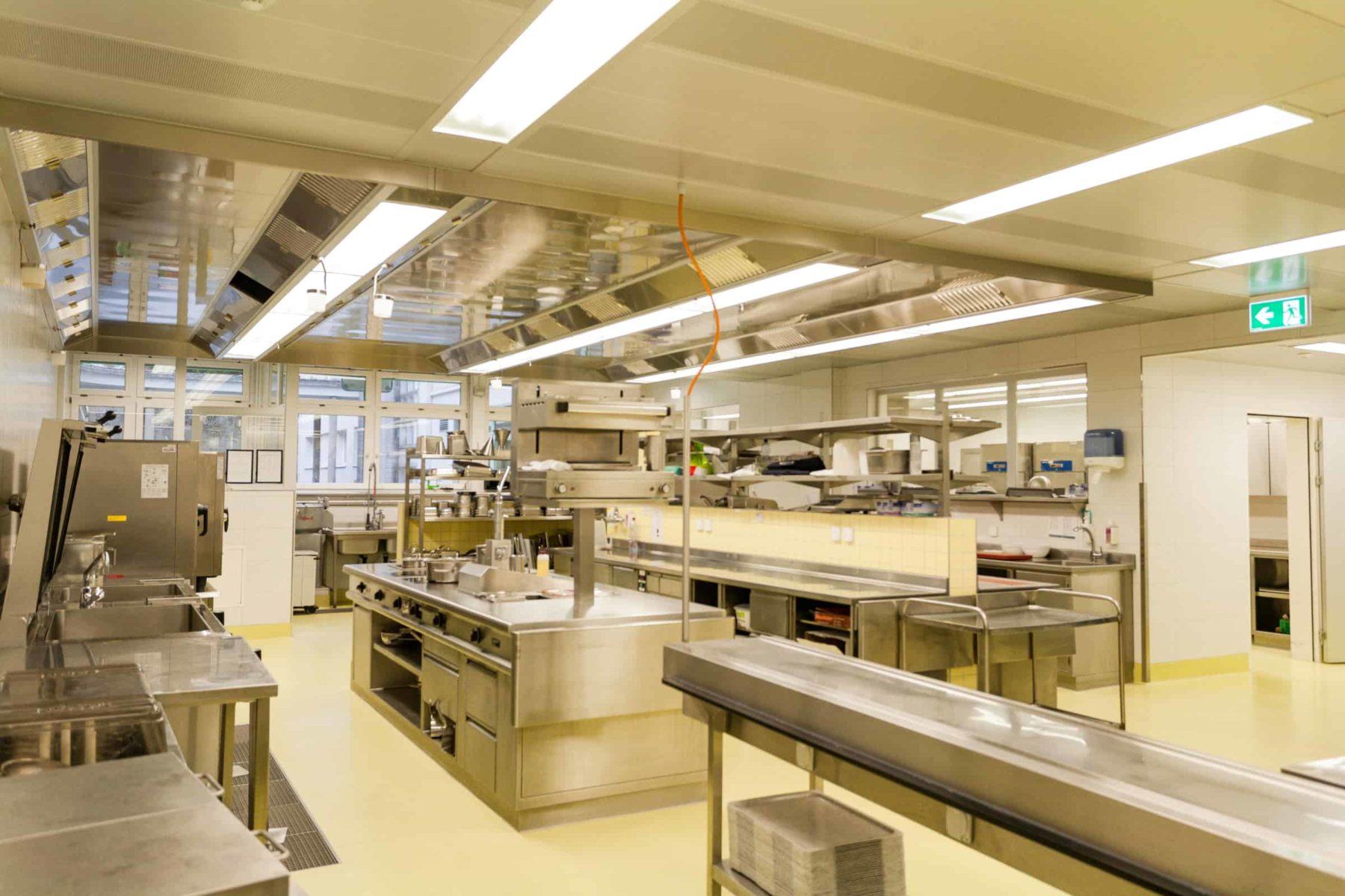 Berner Klinik Montana, Küche