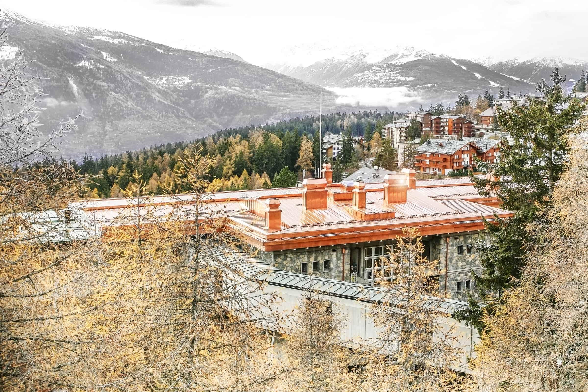Berner Klinik Montana, Klinikdach