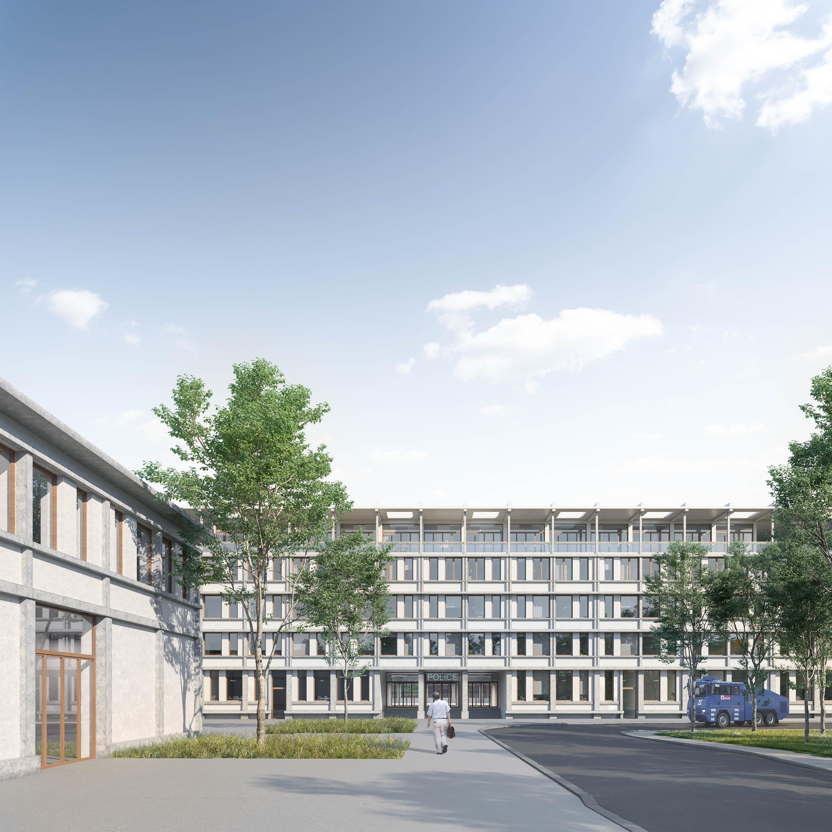 Polizeizentrum Bern, Autobahn