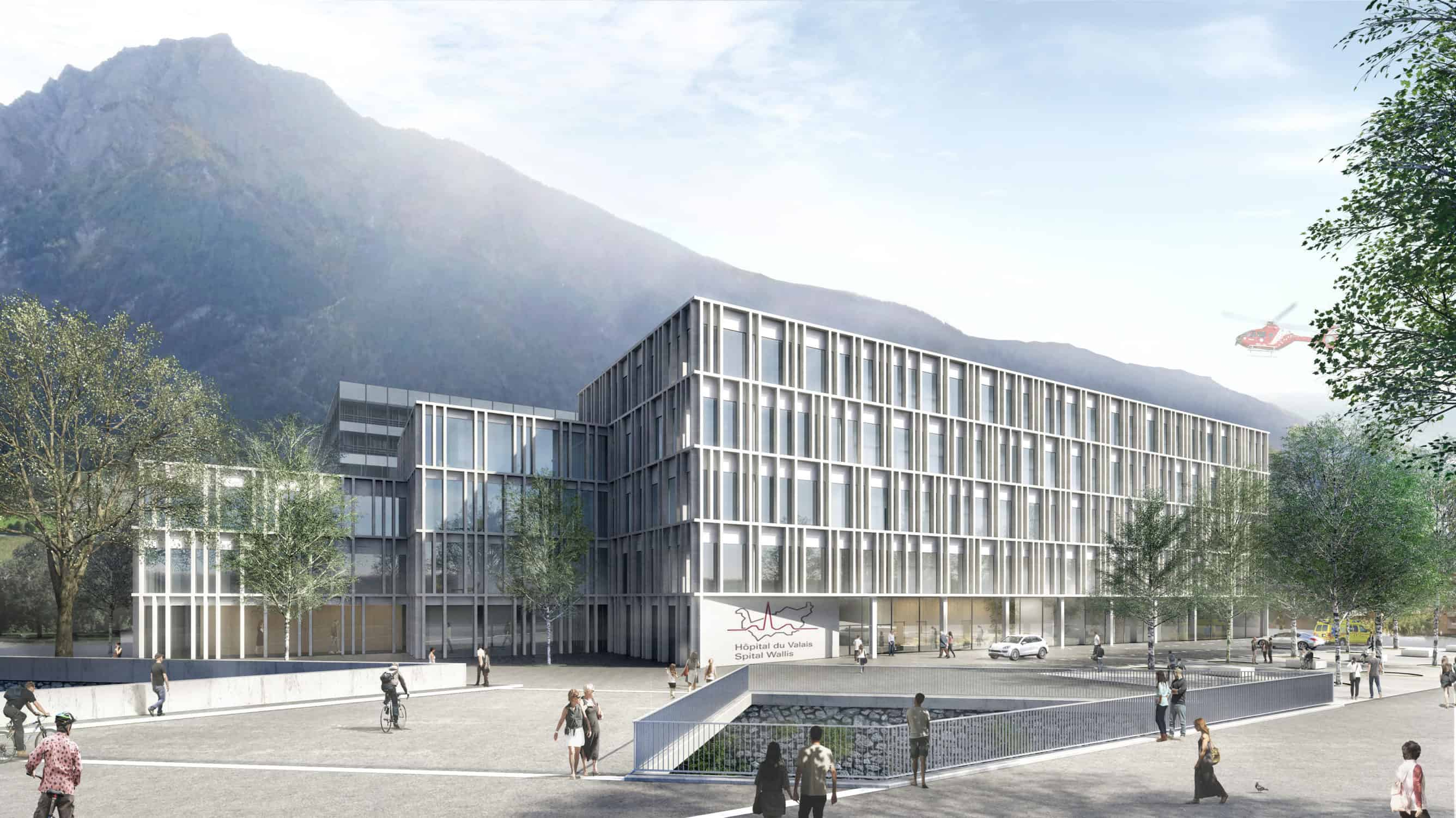 Spitalzentrum Oberwallis, Brig
