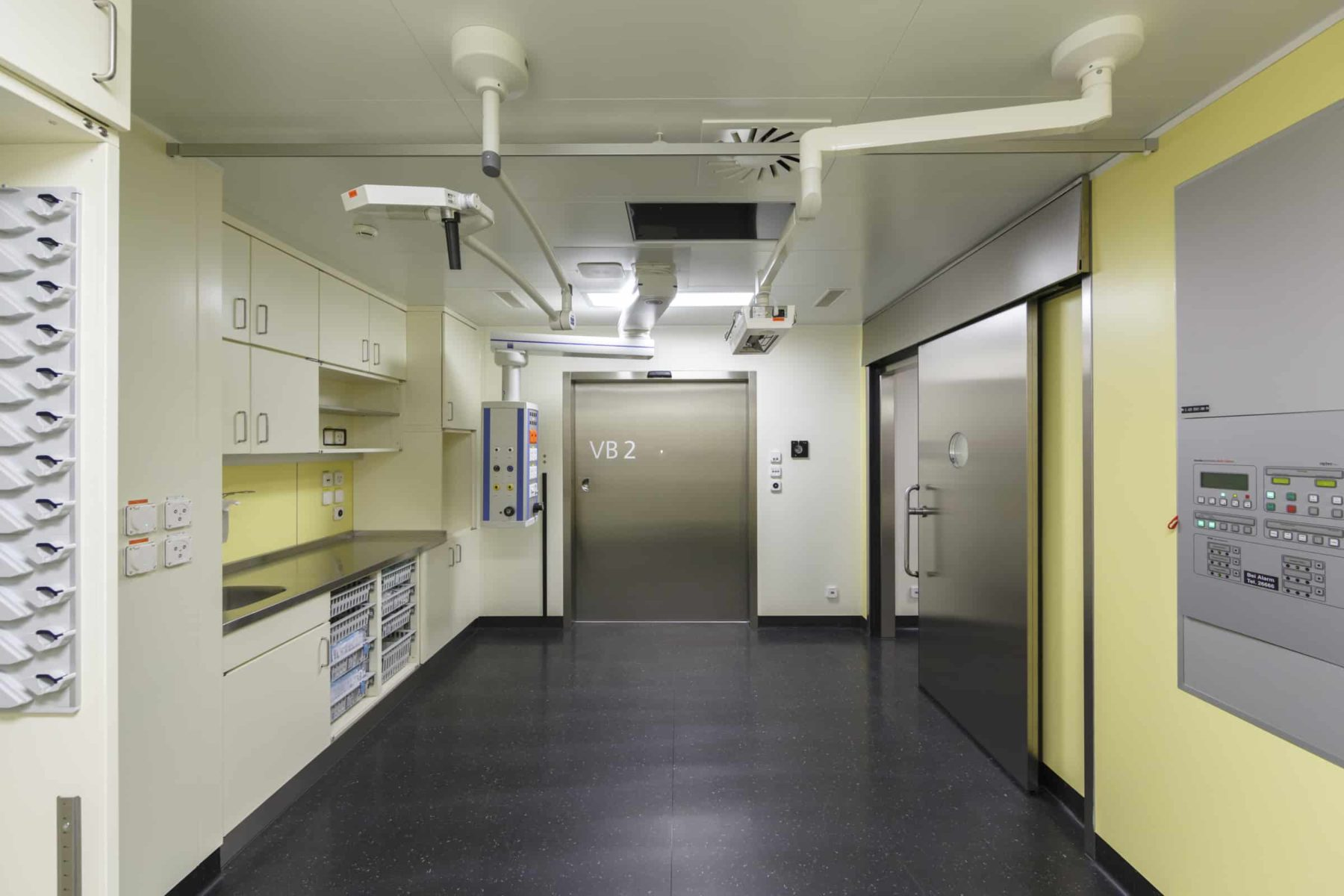 Kinderklinik, Gesamtsanierung, neue Operationseinheit
