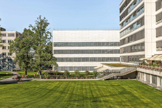 Lindenhofspital, Neubau OP- und Behandlungstrakt