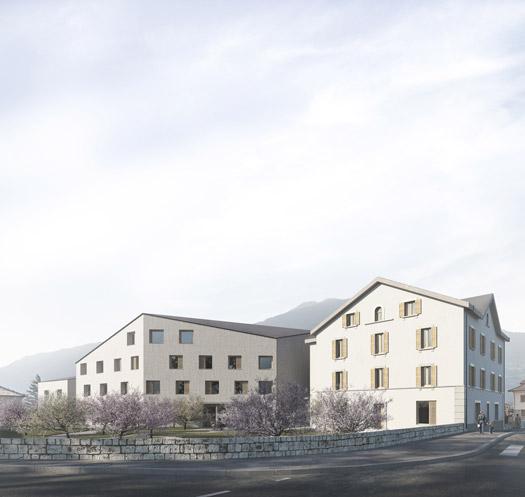 Agrandissement du Foyer et création d'un Centre de Jour – Fondation Domus à Ardon