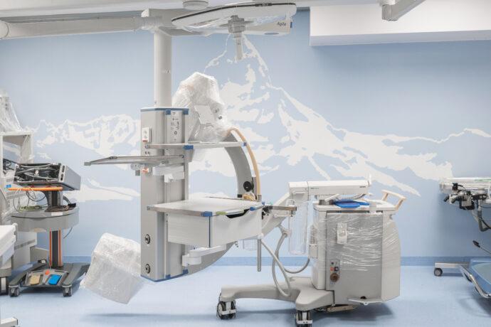 Sanierung Experimental Surgery Facility (ESF) mit Erweiterung Herzkatheterlabor